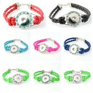2017 Nouveau National Charme Bracelets Noosa À La ModeBracelet Snap Bouton Bijoux Bracelet Meilleur Cadeau noosa bracelet chaud