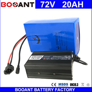 BOOANT 72V 20AH Scooter Battery for Bafang 3000W Motor Li-ion Battery pack 20S 8P E-Bike Li-ion Battery pack with 84V 5A charger