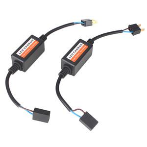 2 Peças H7 H11 9005 9006 Led Farol Canbus Computador Aviso Canceler Erro Livre Carga Resistor Anti-flicker Canbus Decoder