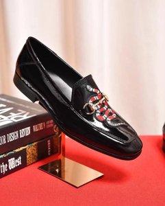 Новый стиль моды мужские мокасины вышивка ручной работы мужчины из натуральной кожи туфли на вечеринку и свадьба мужская квартира DHL бесплатная доставка