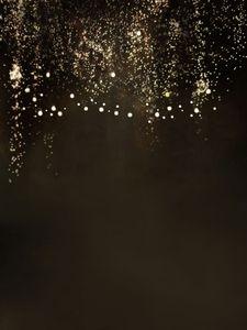 Wedding Photo Booth backdrop espumantes Focos Fantasia Brown Black Night escuro Prom Party Estúdio de Fotografia