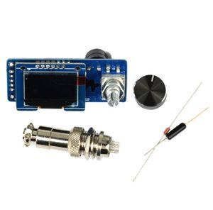 Nova T12 OLED Digital Controlador de Temperatura Da Estação De Ferro De Solda STC Inglês Display Board