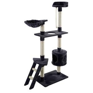 """الجديدة 60 """"القط برج شجرة كوندو هرش الأثاث هريرة الحيوانات الأليفة في البيت الأرجوحة رمادي"""