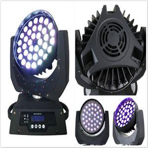 (4 unidades / lote) cabeza móvil led wash dmx haz de zoom 36x12w rgbw bola de discoteca led iluminación de punto led móvil