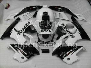 3 cadeaux gratuits pour Honda CBR CBR600F3 97 98 600F3 CBR600 1997 1998 ABS carénage Noir Moto Blanc AA15