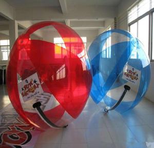 2M نفخ المياه واضحة المشي الكرة PVC شفافة الرقص الكرة المياه معدات اللعب
