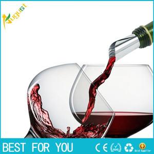 Nuevo hot Practical Disk Pourer Wine Whisky Foil Pourers Stop Drop Spout Fiesta de cata de regalos Bar de regalos Herramientas Wine Pourer