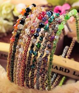 Mode Bohemian Style Frauen Kristall Kopf Hoop Haarnadel Stirnband Haarspange Zubehör Mädchen Haarschmuck Mode Haarband Zubehör