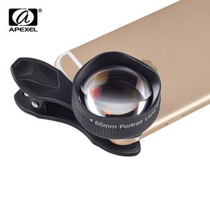 APEXEL Optik Pro, 85mm 3X HD Telefoto profesyonel portre, iPhone 6 s için Hiçbir Koyu Daire / 6 s Artı Xiaomi lens