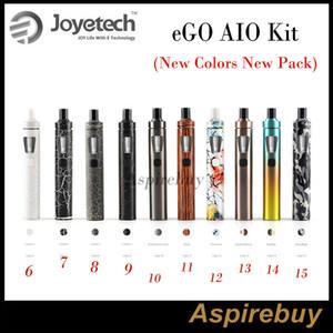 Joyetech eGo Aio Kiti All-in-one Stil Cihazı 1500mAh Pil ve 2ml e Sıvı aydınlatma LED 10 Yeni Renkler Yeni Gelenler Yeni Paket