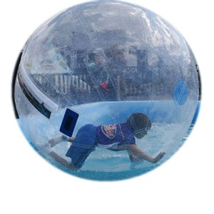 Ücretsiz Teslimat Uzun Ömrü TPU 7 Ayaklar Waterball Şişme Havuz Oyunları için Topları Su Zorb Dia 5ft 7ft 8ft 10ft