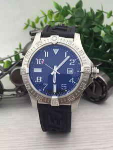 DHgate seçilen satıcı 2017 yeni sıcak satış moda saatler erkekler siyah dial lastik bant saatler colt otomatik izle erkek elbise saatler