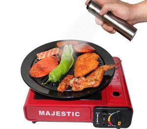 1PC Longming Home S / Steel Olive Mister Oil Spray Pump Botella Fina Rociador de aceite Pot Cooking Roast Bake Tools Dispensador de Aceite KX 130