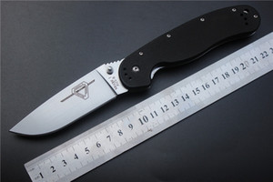 4 stylesTactical нож RAT Онтарио складной нож, приключенческая тренировка AUS-8 лезвие G10 Ручка открытый EDC карманные ножи выживания бесплатная доставка