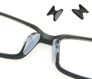Wholesale- 1 Set 5 Pairs Anti-Slip Silicone Nose Pads for Eyeglass Sunglass Glasses Spectacles