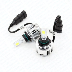 XIANGSHANG All-in-One Car Headlights LED HB4 9006 Bulb Auto Front Bulb 66W 6000lm Automobiles Headlamp 6000K White Conversion Ki