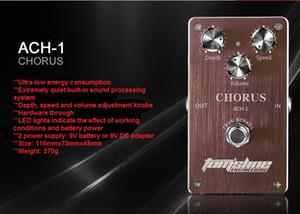 무료 배송 Mini Pedal Tomsline ACH-1 Chorus 기타 효과 페달 깊이 및 속도 조절 가능 고품질