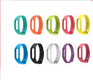 FOR Xiaomi Mi Band 2 Strap Miband 2 TPU Strap Bracelet Replacement Wristband Smart Band 10 COLOR 100PCS LOT