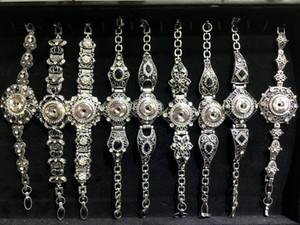 New Arriver 10 pcs Lot Vintage Snap Charme Bracelet Diy Snap Bijoux Interchangeable 18mm Snap Bouton Charme Fit Noosa Ginger Snaps Style Mixte