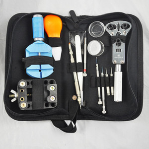 All'ingrosso-YCYS strumenti di riparazione dell'orologio 13 pezzi Kit di strumenti di riparazione apri di orologi Set di sostituzione della batteria di rimozione del cinturino