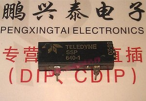 640-1. SSP640-1 / TELEDYNE SOLID STATE AC / DC RELAY ، حزمة مزدوجة من البلاستيك ذات 4 دبوس في الخط. PDIP4 ، مكونات إلكترونية متكاملة IC