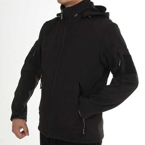 Высочайшее качество Мужская куртка с мягкой оболочкой, Водонепроницаемая руно-спортивная куртка SpringWinter для мужчин, альпинистские тактические куртки 3 цвета