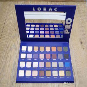 Brilho profissional LORAC MEGA PRO 2 paleta azul 32 Nake de cor Sombra de olho LORAC Sombra de olho Paleta Maquiagem Conjunto cosméticos