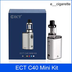 ECT C40 Mnini Kit kits de partida e caixa de cigarro mod vape mod 1800 mah Elfin Tanque 2.0 ml cigarro eletrônico