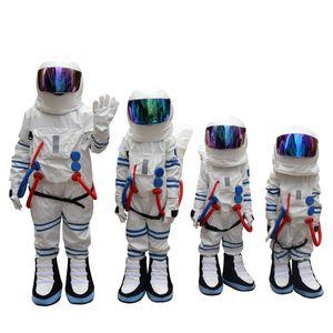 Vente directe d'usine enfant et adulte Costume de mascotte de costume de l'espace Costume de mascotte de l'astronaute