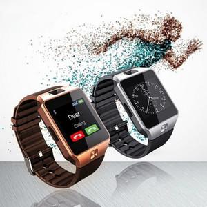 Akıllı İzle Dijital DZ09 U8 Bilek Erkekler Bluetooth Elektronik SIM Kart Spor Smartwatch kamera Ile iPhone Android Telefon Için Wach