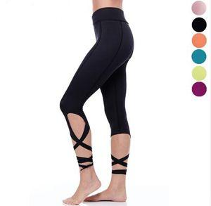 Siyah Döşeme Tayt Yeşil Seksi Sıkıştırma Spor Yoga Pantolon Capri Gül Kırmızı Bale Dans Tayt Pembe Sıska Ince Bayanlar