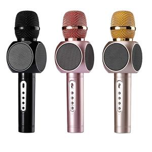 E103 Karaoke Microfone Karaoke Microfone Sem Fio Bluetooth Handheld Partido Ao Ar Livre Móvel para iOS Android