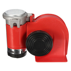 Alta Calidad 12 V 136 db Red Snail Compact Air Horn Air Car Truck Motorcycle Barco RV AUP_411