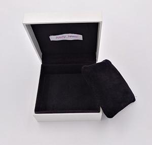 Papier Box Verpackung mit Kissen für Pandora Style Schmuck Charms Perlen Armbänder Armreifen Verpackung Display Geschenkpakete