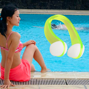 Silicone Ear Plugs & Nose Clip Combo Set + Case Swimming Water Pool Sea