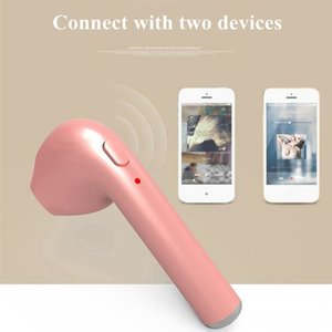 1 unid freeshipping HBQ I7 Mini Auricular Bluetooth Inalámbrico Auriculares Invisibles Auriculares Con Micrófono Auricular Bluetooth para Iphone Android