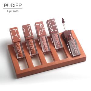 5 قطعة / المجموعة pudaier مثير lipgloss اليقطين اللون سلسلة السائل للماء طويلة الأمد ماتي أحمر الشفاه الجمال لون ماكياج مجموعة الشحن مجانا