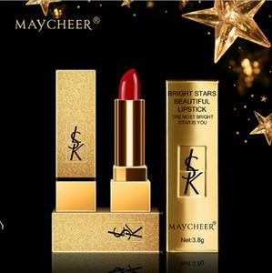 Commercio all'ingrosso nuovo arrivo 6pcs di trucco maycheer Star labbra rossetto morso idratazione della pelle umida che dura colorata