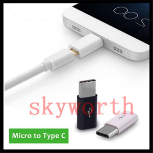 Alta Qualidade navio livre USB 3.1 Tipo-C Macho para Micro USB Feminino Mini Conector Adaptador Tipo C lojas de Fábrica