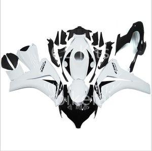 Honda CBR1000RR Için ücretsiz hediyeler 08 09 10 11 1000RR 2008 2009 2010 2011 ABS Plastik Enjeksiyon Motosiklet Tam Fairing Kiti Beyaz siyah A28