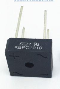 Großhandels-50pcs NEUER SEP Brückengleichrichter KBPC1010 10A 1000V reales freies Verschiffen Dioden-Brücken-Berufszufuhr heiß weltweit