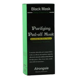 En gros Masque d'aspiration noir anti-âge 70ml SHILLS Bamboo Charcoal Nettoyage en profondeur Peeling purifiant Masque noir Supprimer Peau noire