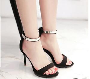 2017 été talons aiguilles sandales 3 couleurs étanche Taiwan sexy discothèques mode chaussures à talons hauts