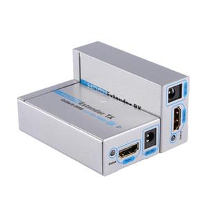 Freeshipping HDMI1.3 1080P 3D Network Extender Converter TX / RX Fino a 60M Kit di cavi di estensione audio video