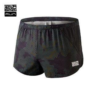 Wholesale- BMAI Brand Man Marathon Running Shorts Pants Shorts For Man Workout Outdoor Sports Black And Purple Shorts # FRSA005