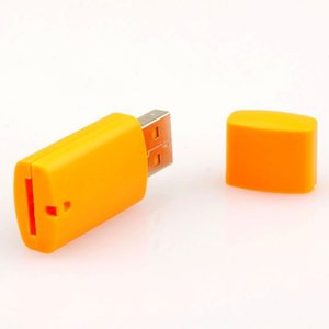 high quality, little dog USB 2.0 memory TF card reader ,micro SD card reader DHL FEDEX free shipping 100pcs lot