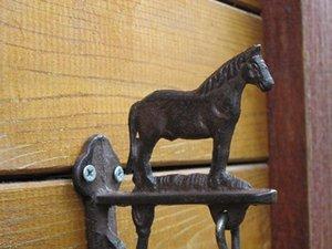 Metall Tier Retro Eisen Pferd Dekorative Gusseisen Handgemachte Glocke Telefon Landschaft Garten Garten Bauernhof Kreative Heimat Handwerk