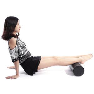 EPP йога тренажерный зал упражнения фитнес массаж оборудование пены ролик блок релаксации мышц физиотерапия черный 30СМ 45см +Б
