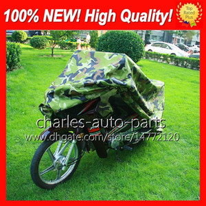 20 Colors Universal Anti-UV Rain Wind Snow Waterproof Motorcycle Cover Moped Scooter Bike Cover Protector Covering Motorbike Moto Covers HOT