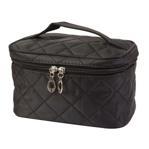 Wholesale- Makeup bag Square Cosmetic Bag Protable Travel Toiletry organizer Solid High capacity make up Bags Girls